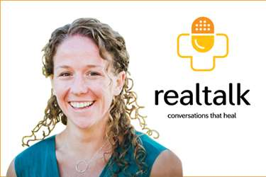 Alicia Kurtz and Real Talk logo