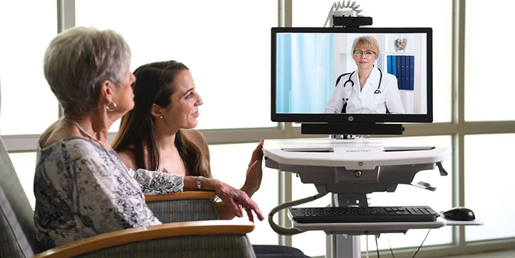 Teleskilled nursing between patient and physician