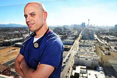Zubin Damania, physician and host of ZDoggMD